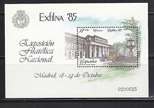 Spanish Stamps - 1985 Exfilna 85 Sheet In Mint Condition