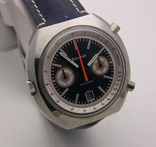 Vintage Bulova Automatic Chronograph Caliber 12 Chronomatic w/ Buren Movement