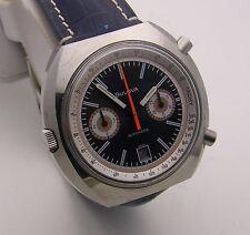 Vintage Bulova Automatic Chronograph Caliber 12 Chronomatic w/ Buren Movement