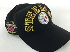 Pittsburgh Steelers Superbowl Snapback Hat Embroidery Cap NFL Annco Vintage