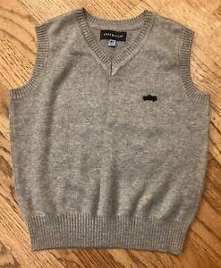Andy & Evan Grey Sweater Vest - Size 4 T - NWOT