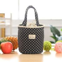 Portable Insulated Thermal Cooler Lunch Box Carry Tote Picnic Storage Bag WT