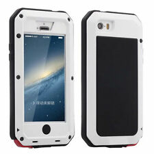 Aluminum Gorilla Glass Shockproof Waterproof Metal Cover Case For iPhone Samsung