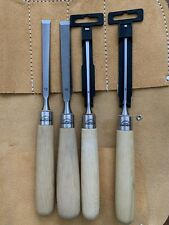 Chisel Set With Chisel roll