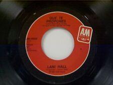 """LANI HALL """"QUE TE PROPONES / SI TU FUERAS CAPAZ"""" 45"""