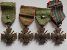 Francia 4 croce al merito di guerra 1914 1915 1916 1917 1918