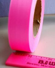 """Hot Pink 1"""" Satin Ribbon Single Face Full Roll 36 yds High Quality Craft (25mm)"""