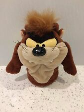 TASMANIAN DEVIL 1994 WB Looney Tunes TAZ 9 cm  HAND PUPPET Stuffed Plush
