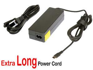 90W USB-C AC Adapter for Dell Latitude 14 9410, 15 9510, Precision 5550 5750