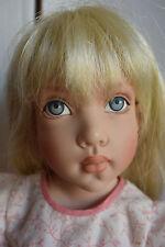 """Lovely 16"""" Blonde Jo Wearing Boneka Smocked Outfit By Helen Kish!"""