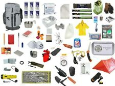 72 Hour Grey Survival Backpack Kit Zombie Emergency 3 Day Disaster Pack Bug Out