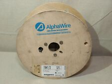 Alpha Wire 1941/3 series Multiconductor Unshielded Cable 18 AWG 3con 250ft – NEW