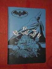 GIORNO BATMAN QUADERNO PROMOZIONALE -LUNGO HALLOWEEN-NUOVO DC COMICS TIM SALE