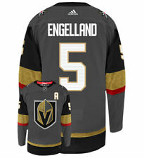 Deryk Engelland Vegas Golden Knights Adidas Authentic Home NHL Hockey Jersey