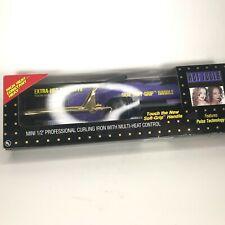 "Hot Tools Mini 1/2"" Professional Curling Iron & Multi-Heat Control M# 1103R Nw2"