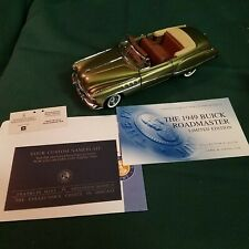 Franklin Mint 1949 Buick Roadmaster Convertible Limited ed - 1:24 die cast RBR40