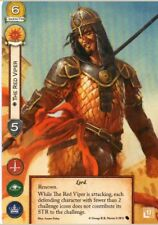 x1 The Red Viper Game of Thrones Card Fantasy Flight Games FFG Promo LCG