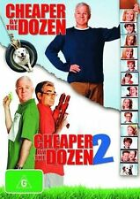 Cheaper by the Dozen / Cheaper By The Dozen 2 * NEW DVD * Steve Martin