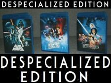 STAR WARS ORIGINAL THEATRICAL TRILOGY BLU-RAY + DOCUMENTARIES  despecialized