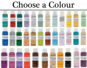Colour Choice of docrafts Artiste All Purpose Acrylic Paints and Varnishes