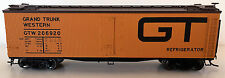 Gtw Rr Ho-Scale 40' Wood Reefer By Atlas Master Line -Free Shipping In The U.S.