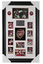 """""""Arsenal"""" Dennis Bergkamp and Thierry Henry Signed Photo with Frame"""