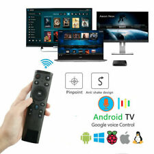 Q5 2.4GHz USB WiFi Air Mouse Gyro Voice Remote Control for Android Smart TV Box