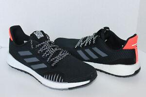 Adidas Men's Pulseboost HD Winter Shoes US 11.5 M FU7321 Core Black/ Grey /Red