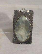 Antique 1905 Grooming Kit Makeup Etui Brush Vanity Silver plate