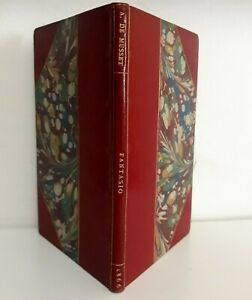 /Musset E.O.+ Maroquin & Provenance Tinan – Fantasio, Charpentier, 1866