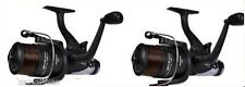 2 x Shakespeare 6000 Beta Freespool Carp Fishing Reels Bait, Switch