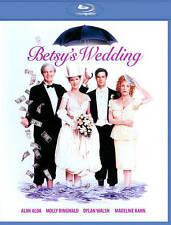 BRAND NEW Betsy's Wedding BLU-RAY DISC Alda/Ringwald/Walsh/Kahn FREE US SHIPPING