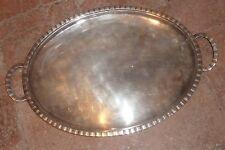 plat métal argenté, Boulenger, art déco. argenterie 20°s