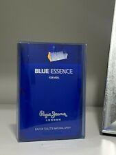 BLUE ESSENCE FOR MEN  PEPE JEANS LONDON Eau de toilette  100 ml SPRAY RARE