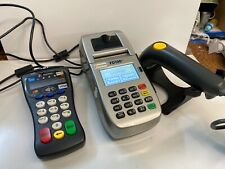 First Data Fd100Ti Credit Card Chip Machine with Fd-30 PinPad & Ls1203 Scanner
