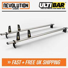 Vauxhall Vivaro, Renault Trafic Roof Rack Bars 2 x Van Guard ULTI Bar H1 01-14