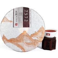 7572 Menghai Dayi Puer Tea Cake TAETEA Pu-erh China Yunnan Pu'er 2015 357g Ripe