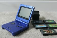 Nintendo Game Boy Advance SP + 5 Games and Charger
