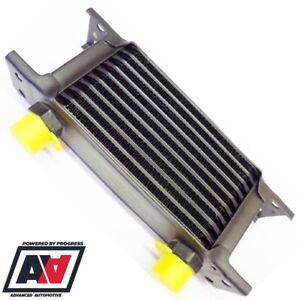 "Mocal 10 Row Oil Cooler 115 Matrix 1/2"" BSP Fittings In Black ADV"