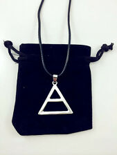 30 Seconds To Mars Triad Silver Triangle Jared Echelon Necklace Wedding Pendant