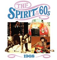 (CD) The Spirit Of The 60s - 1968 - Bee Gees, Ohio Express, The Love Affair,u.a.