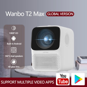 Original Xiaomi Wanbo Global Version T2 Max LCD Projector 1080P TV Home Theater