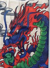 Dragon Tattoo Sleeve Colorful Bold Color Fit All Size 17.5 Length