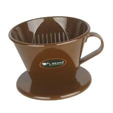 Coffee Filter Clever Coffee Dripper Cone Reusable Brewer Portable Brown