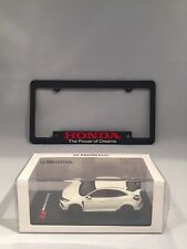 Honda Civic Type-R 1:43 Diecast With Power Of Dreams License Plate Frame Combo