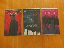 Angel comics issues 0, 1 and 2, 2019