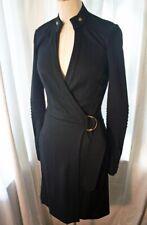 DIANE VON FURSTENBERG Wool Jersey BIKER Wrap Dress 2