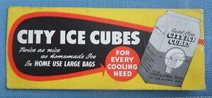 City Ice Cubes Blotter