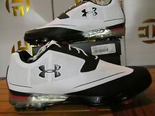 Under Armour UA Tour Tips $170 Black White Red 12 1288575 101 Golf Shoes spieth