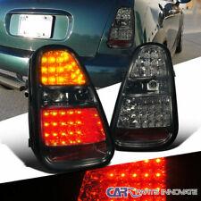 For 05-06 Mini Cooper S LED Smoke Lens Parking Tail Lights Tint Rear Brake Lamps